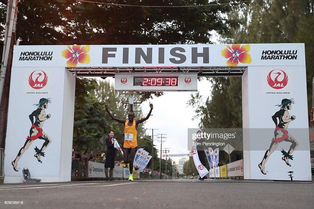 Honolulu Marathon 2016 : News Photo