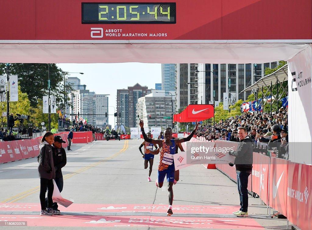 2019 Chicago Marathon : News Photo