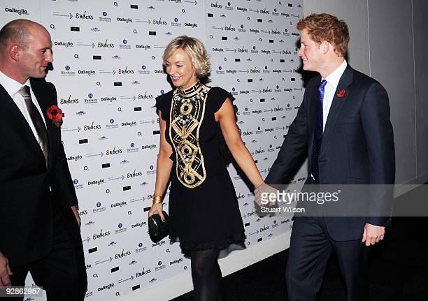 Lawrence Dallaglio Alice Dallaglio and Prince Harry attend the Dallaglio Foundation 8Rocks in aid of Cancer Research at Battersea Evolution on...