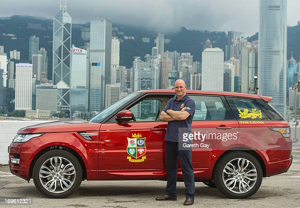 Lawrence Dallaglio launches the allnew Range Rover Sport as he is announced as a Global Land Rover ambassador in Hong Kong on May 29 2013 in Hong Kong