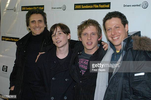 Lawrence Fender Lou Taylor Pucci Jamie Bell and Arie Posin director of The Chumscrubber