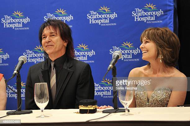 Lawrence Gowan and Janice Gowan attend The Scarborough World Gala Lifetime Achievement Award Ceremony at Sheraton Centre Toronto Hotel on May 10 2014...