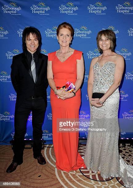 Lawrence Gowan Sarah Ferguson The Duchess of York and Janice Gowan attend The Scarborough World Gala Lifetime Achievement Award Ceremony at Sheraton...