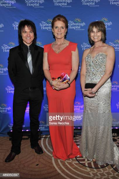 Lawrence Gowan The Duchess of York Sarah Ferguson and Janice Gowan attend The Scarborough World Gala Lifetime Achievement Award Ceremony at Sheraton...