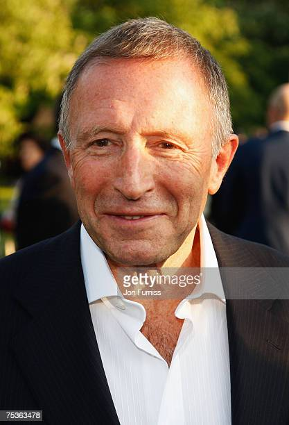 Lawrence Graff attends the Serpentine Gallery Summer Party 2007 held at the Serpentine Gallery Hyde Park on July 11 2007 in London