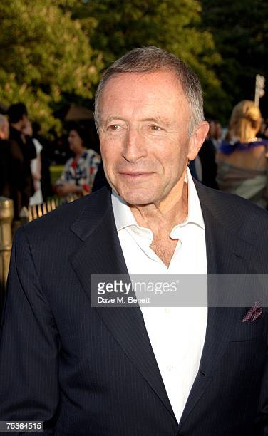 Lawrence Graff attends the Serpentine Summer Party at The Serpentine Gallery on July 11 2007 in London England