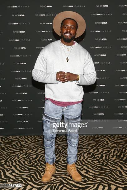Lawrence H Robinson arrives as Fashion Nova Presents Party With Cardi at Hollywood Palladium on May 8 2019 in Los Angeles California