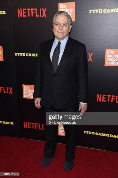 Lawrence Kasdan attends the Five Came Back world premiere at Alice Tully Hall at Lincoln Center on March 27 2017 in New York City