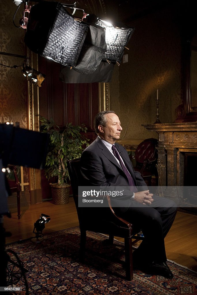 Obama Senior Economic Adviser Lawrence Summers Interview