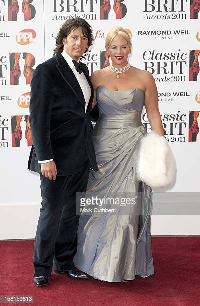 Lawrence LlewellynBowen And His Wife Jackie Arrives At The Classic Brit Awards 2011 At The Royal Albert Hall In Central London
