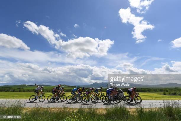 Lawrence Naesen of Belgium and AG2R Citröen Team, Dries De Bondt of Belgium and Team Alpecin-Fenix, Enrico Battaglin of Italy and Bardiani CSF...