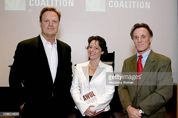 Lawrence O'Donnell Jr with Kathy RothDouquet and Frank Schaeffer authors of AWOL The Unexcused Absence of America's Upper Classes from Military...