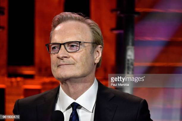 Lawrence O'Donnell recipient of the 2018 UNICEF Children's Champion Award speaks onstage during the Fourteenth Annual UNICEF Gala Boston 2018 on May...