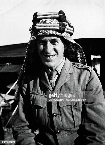 Lawrence of Arabia pseudonym of Thomas Edward Lawrence , British Army officer and writer. London, Imperial War Museum
