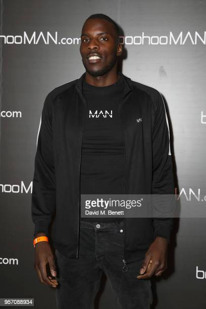 Lawrence Okolie attends boohooMAN by Dele Alli Launch at Radio Rooftop on May 10 2018 in London England