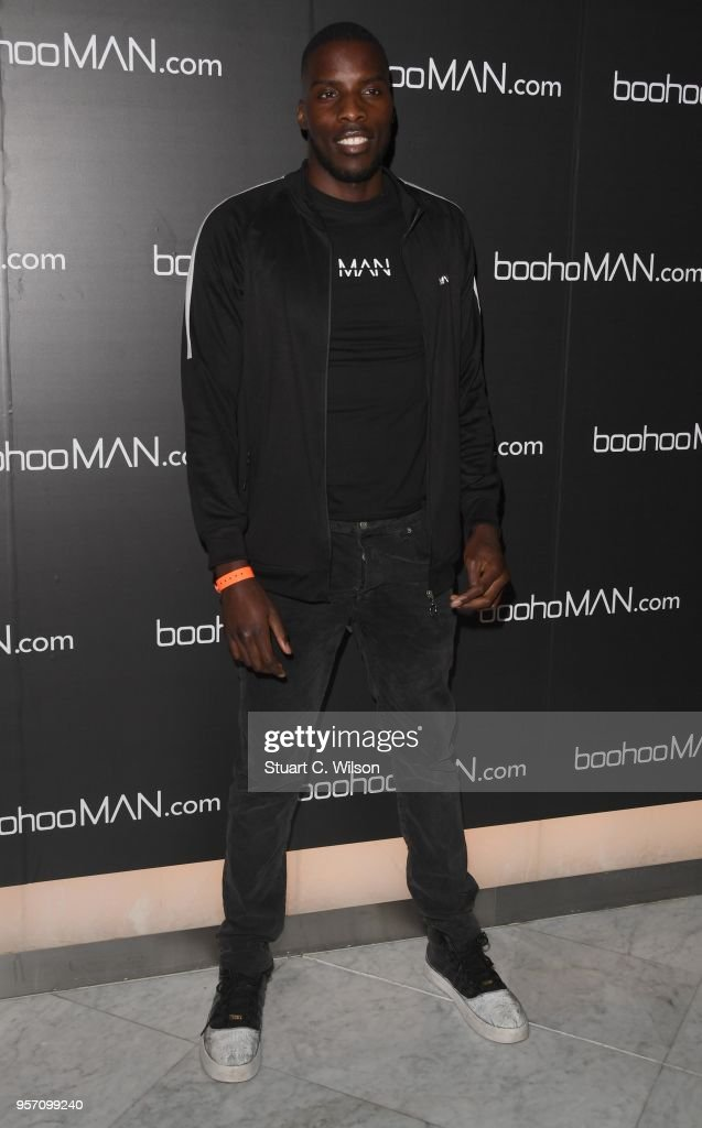 Lawrence Okolie attends the boohooMAN by Dele Alli VIP launch at ME London on May 10, 2018 in London, England.