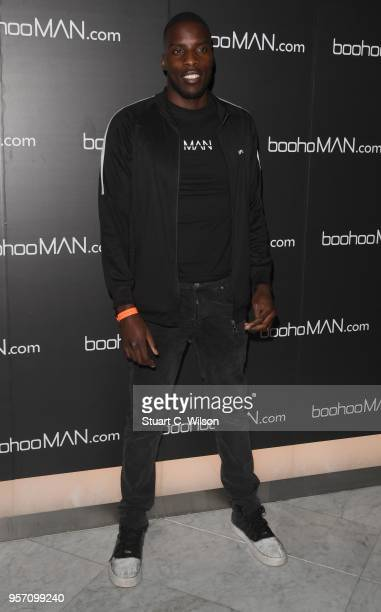 Lawrence Okolie attends the boohooMAN by Dele Alli VIP launch at ME London on May 10 2018 in London England
