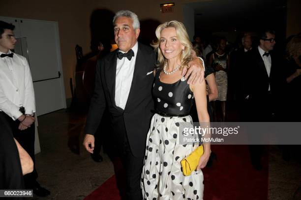 Lawrence Stroll and Claire Anne Stroll attend THE COSTUME INSTITUTE GALA The Model As Muse with Honorary Chair MARC JACOBS INSIDE at The Metropolitan...