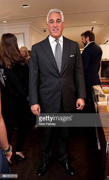 Lawrence Stroll attends the launch of the Michael Kors flagship store on April 27 2009 in London England