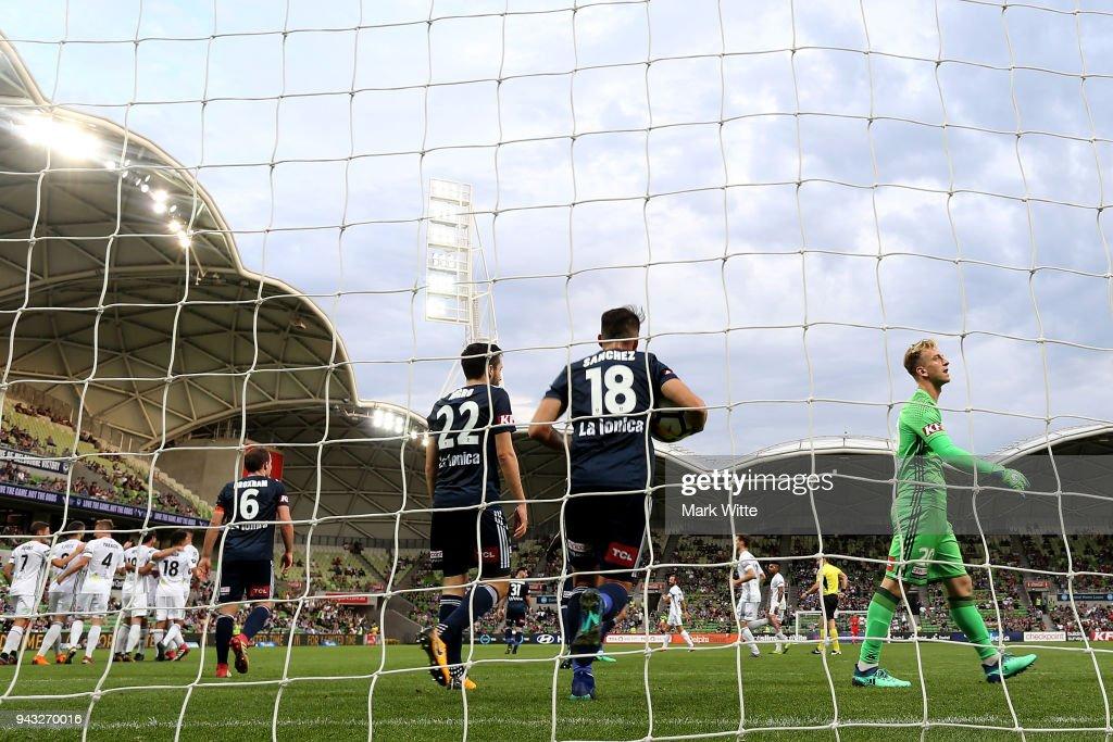 A-League Rd 26 - Melbourne v Wellington