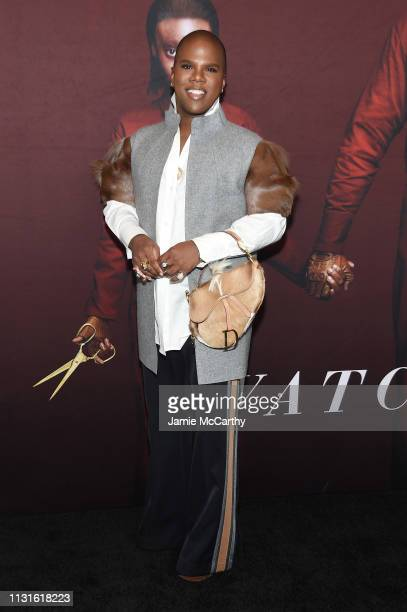 Lawrence Washington attends the US premiere at Museum of Modern Art on March 19 2019 in New York City