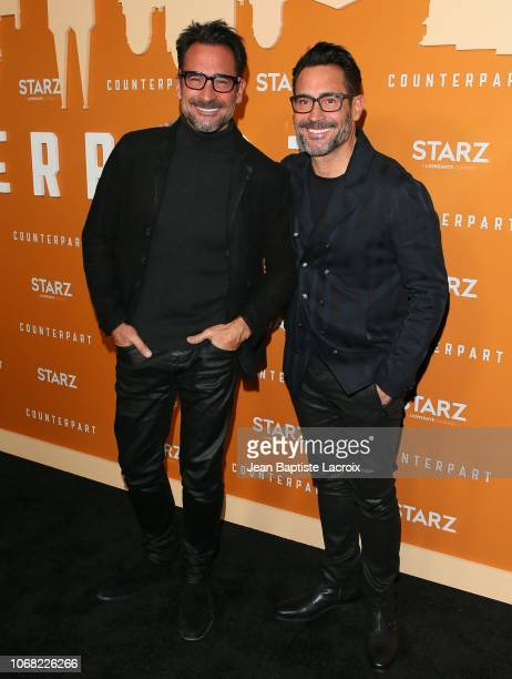 Lawrence Zarian and Gregory Zarian attend the premiere of Starz's 'Counterpart' Season 2 at ArcLight Cinemas on December 3 2018 in Los Angeles...