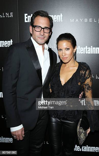 Lawrence Zarian and Jennifer Dorogi arrive at Entertainment Weekly's celebration honoring the 2016 SAG Awards nominees held at Chateau Marmont on...