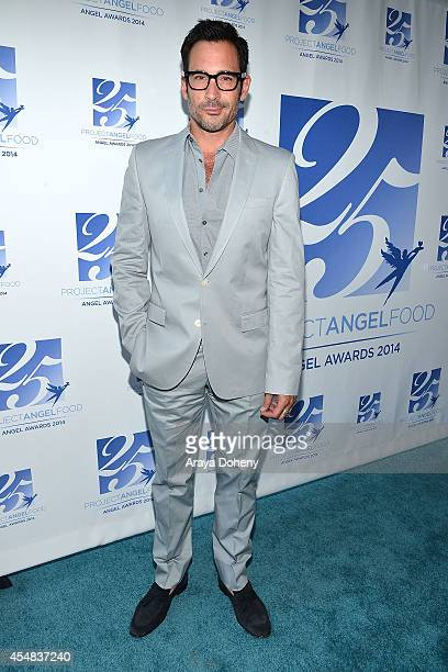 Lawrence Zarian attends the Project Angel Food's 25th Anniversary Angel Awards 2014 honoring Aileen Getty with the Inaugural Elizabeth Taylor...