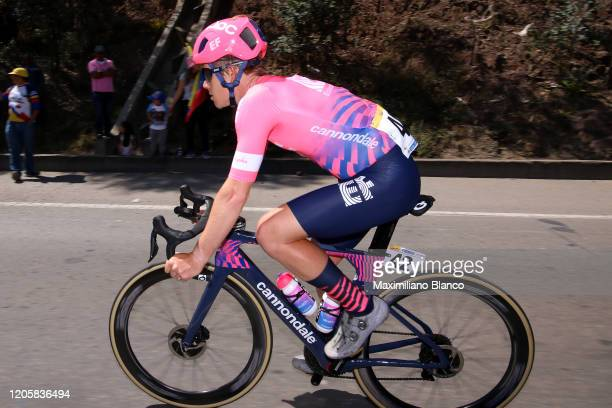 Lawson Craddock of The United States and Team EF Pro Cycling / during the 3rd Tour of Colombia 2020 Stage 2 a 1524km stage from Paipa to Duitama /...