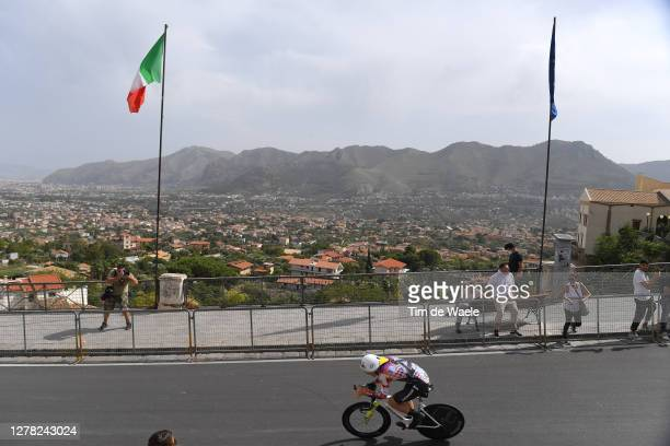 Lawson Craddock of The United States and Team EF Pro Cycling / Palermo City / Mountains / Landscape / during the 103rd Giro d'Italia 2020, Stage 1 a...