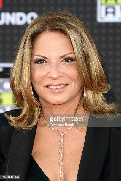 Lawyer Ana Maria Polo attends the Telemundo's Latin American Music Awards 2015 held at Dolby Theatre on October 8 2015 in Hollywood California