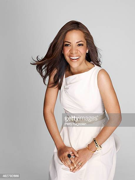 Lawyer and CNN legal analyst Sunny Hostin is photographed for More Magazine on January 30 2009 in New York City PUBLISHED IMAGE