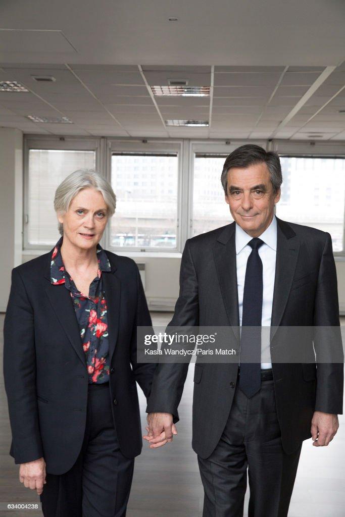 Francois Fillon, Paris Match Issue 3533, February 8, 2017