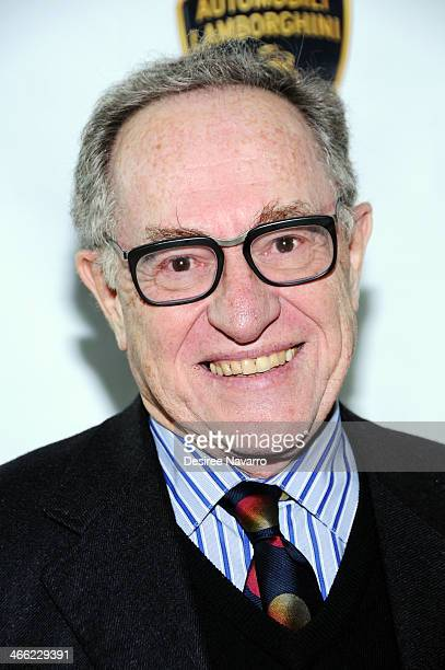 Lawyer and scholar on United States criminal law Alan Dershowitz attends the 5th Annual Big Game Big Give Benefiting The Giving Back Fund at Tribeca...