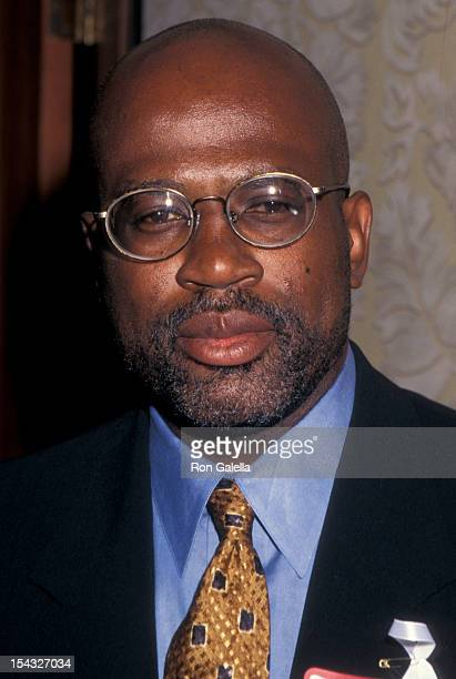 Lawyer Christopher Darden attending Congress of Racial Equality Harmony Awards Dinner on August 19 1996 at the Sheraton Hotel in New York City New...