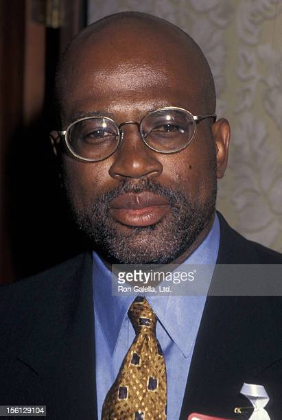 Lawyer Christopher Darden attending 'Congress of Racial Equality Harmony Awards Dinner' on August 19 1996 at the Sheraton Hotel in New York City New...
