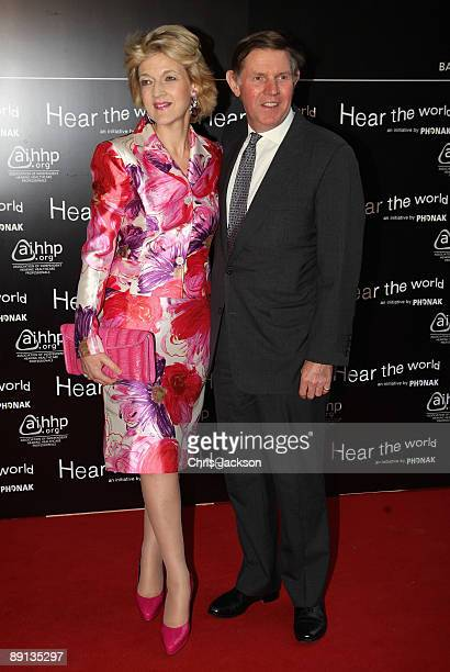Lawyer Fiona Shackleton attends the Bryan Adams 'Hear The World Ambassadors' exhibition at Saatchi Gallery on July 21 2009 in London England