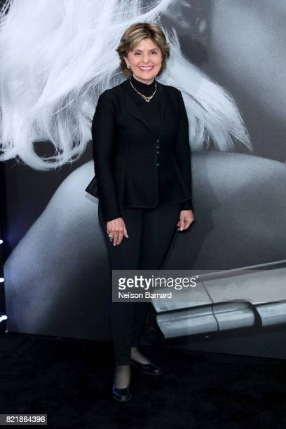 Lawyer Gloria Allred attends Focus Features' 'Atomic Blonde' premiere at The Theatre at Ace Hotel on July 24 2017 in Los Angeles California
