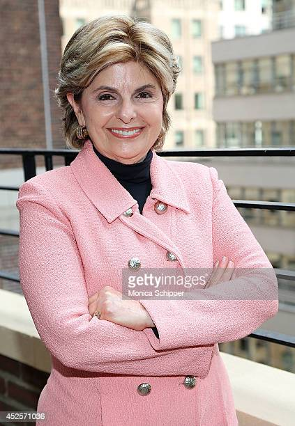 Lawyer Gloria Allred is seen at the Omni Berkshire Place Hotel on July 23 2014 in New York City