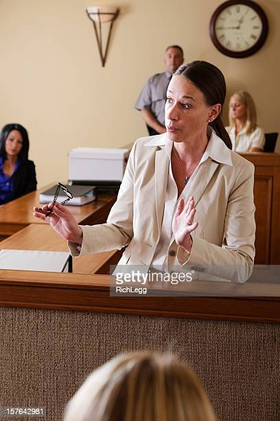 lawyer in court - juror law stock pictures, royalty-free photos & images
