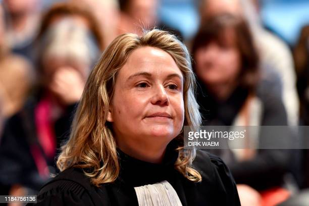 Lawyer Jela Jochems representing the civil parties pictured during the jury composition for the assize trial of Natasja De Paepe and Bart Goossens...