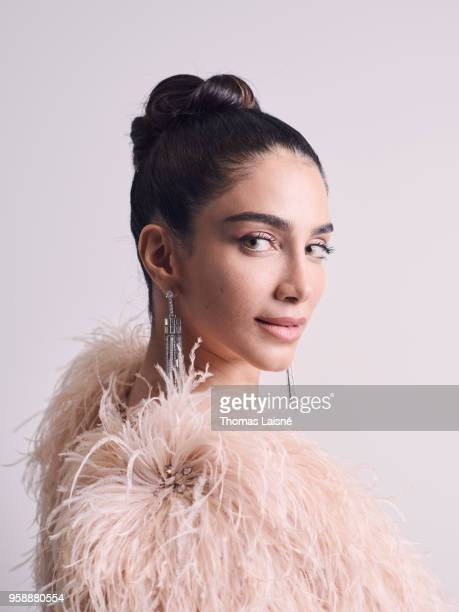Lawyer Jessica Kahawaty is photographed for Gala Croisette on May 2018 in Cannes France