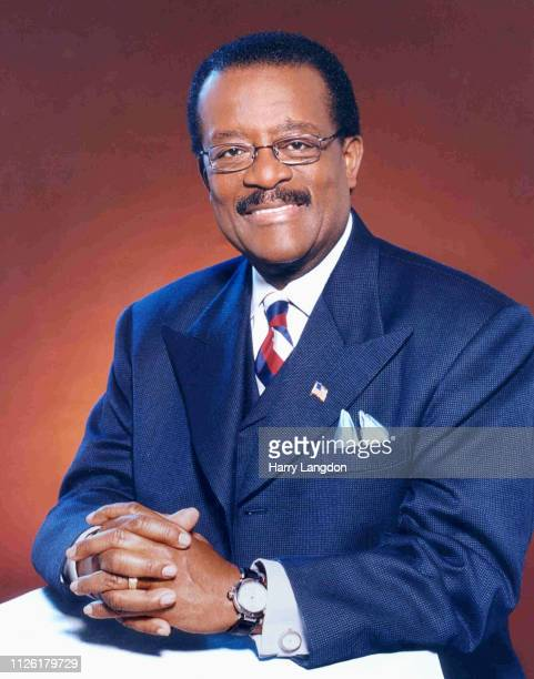 LOS ANGELES 2004 lawyer Johnny Cochran poses for a portrait in Los Angeles California