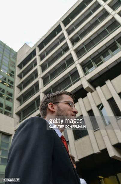 Lawyer Mathias Grasel leaves the regional court in Munich after the proclamation of sentence in the trial against his defendant Beate Zschaepe the...