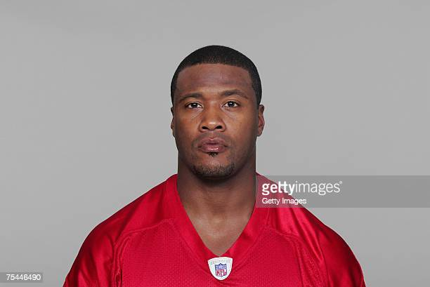 Lawyer Milloy of the Atlanta Falcons poses for his 2007 NFL headshot at photo day in Atlanta Georgia
