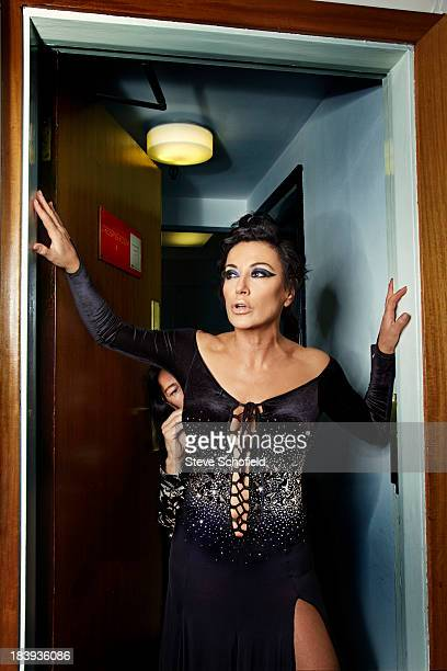 Lawyer Nancy Dell'olio seen participating in the BBC's show Strictly Come Dancing is photographed for the Sunday Times magazine on October 20 2011 in...