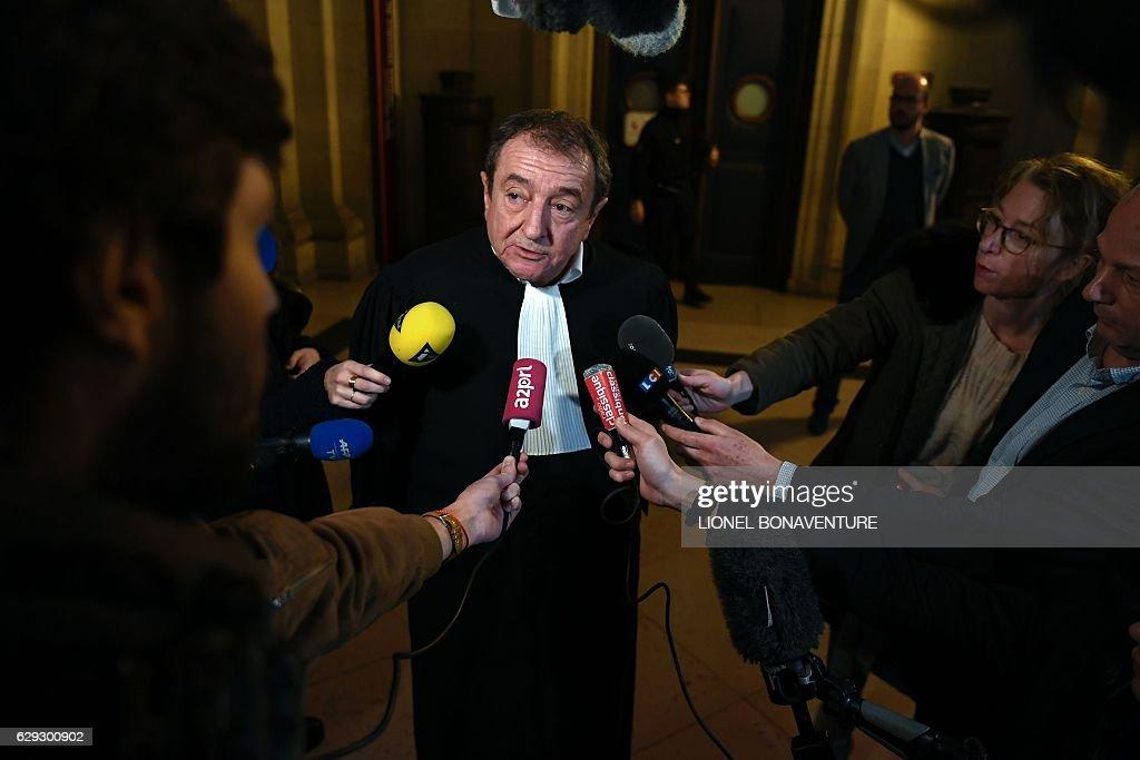 FRANCE-IMF-JUSTICE-TRIAL-LAGARDE : Nachrichtenfoto