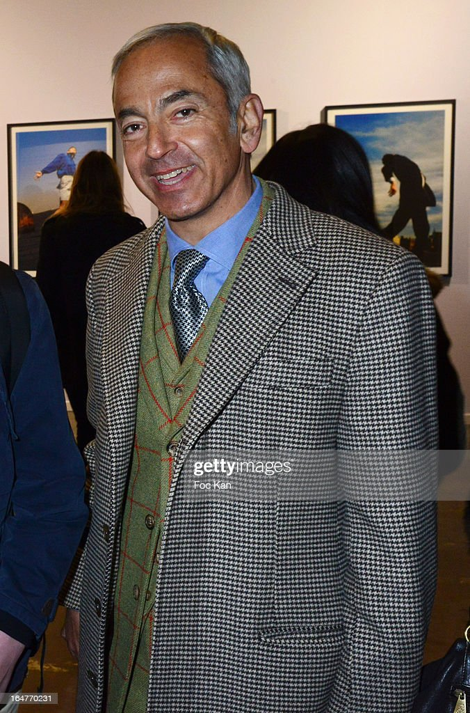 Lawyer Pascal Narboni attends the 'Art Paris 2013' Preview at Le Grand Palais on March 27, 2013 in Paris, France.