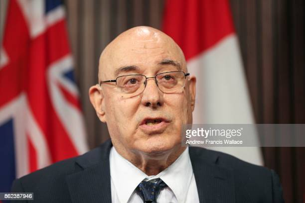 TORONTO ON JUNE 22 Lawyer Peter Rosenthal Counsel to Fair Change speaks to media at Queen's Park June 22 2017 A group of advocates and legal experts...