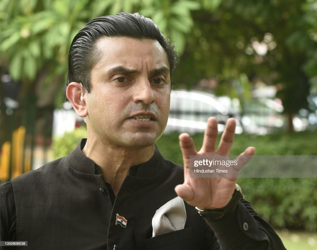 Lawyer Tehseen Poonawalla At Supreme Court During Hearing On Mob Lynchings